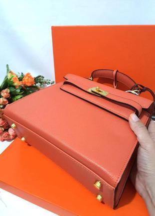 Женская сумка в ст. hermes kelly гермес с коробкой