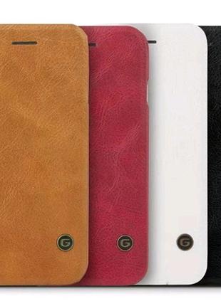 Кожаный чехол книжка G-Case для Samsung Galaxy A20 / A30