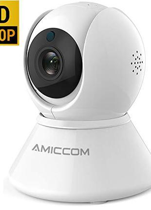 Amiccom-US Y12 1080p IP WiFi камера поворотная 360° PTZ из США