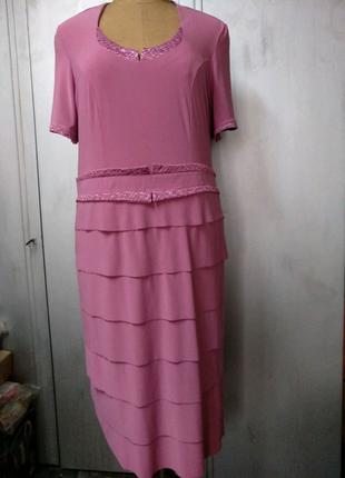 Платье большого размера, 58-60р.