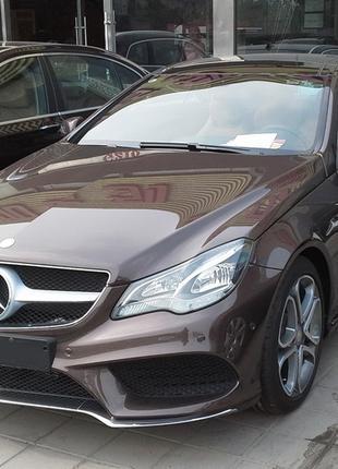 Обвес Mercedes Benz E class coupe W207 бампер диффузор