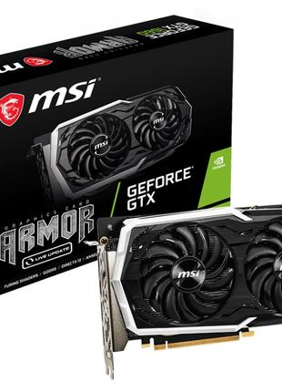 Видеокарта MSI GeForce GTX1660 6GB GDDR6 ARMOR OC