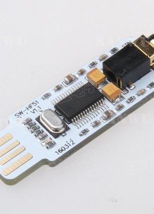 PCM2704 мини USB DAC ЦАП 16bit 48k внешняя звуковая карта