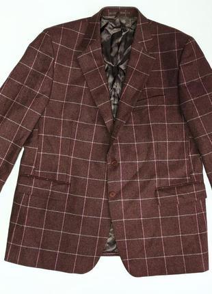Charles tyrwhitt твидовый пиджак клетка англия