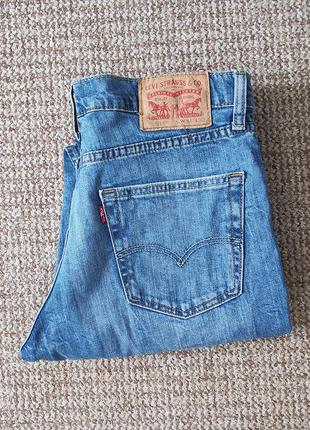 Levi's 511 slim fit джинсы оригинал (w34 l32)