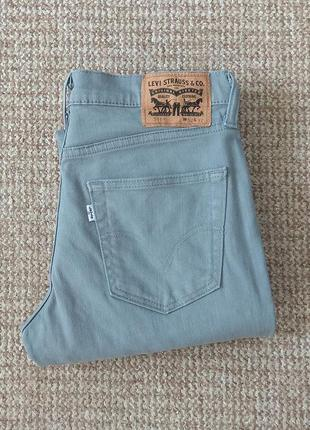Levi's 511 slim fit чиносы джинсы оригинал (w32 l32)