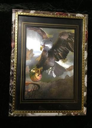 Картина картинка  «орёл» под стеклом
