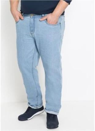 Летние  голубые джинсы слим