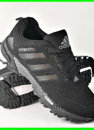 Кроссовки adidas черные мужские адидас