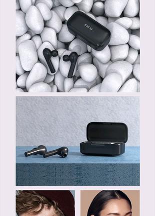Навушники QCY T5 Black безпровідні