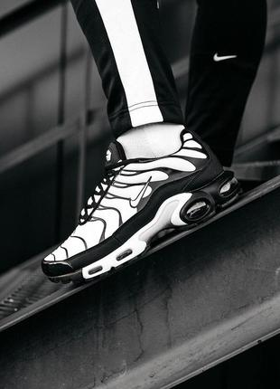 Nike air mix plus tn white/black