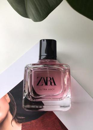 Zara ultra juicy духи парфюмерия туалетная вода оригинал испания