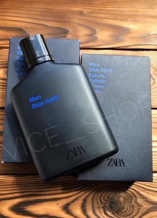 Zara blue spirit духи парфюмерия туалетная вода оригинал испан...