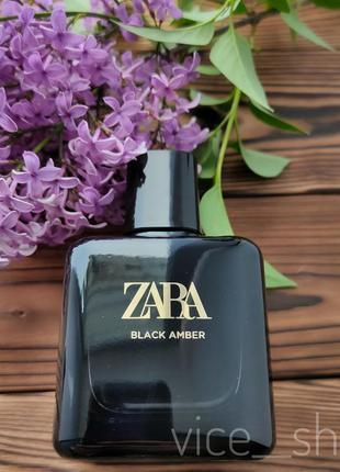Zara black amber  духи парфюмерия туалетная вода оригинал испания