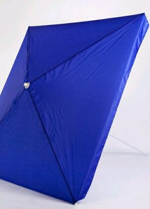 Большой садовый зонт пляжный, торговый  2.0*2.0м, по диагонали 3м