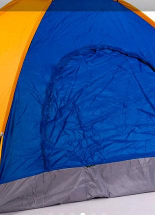 Четырехместная туристическая палатка (2*2,5 метра)водонепроницаем