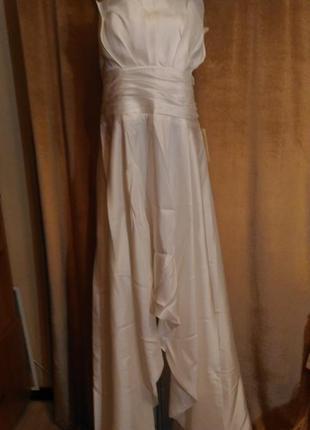 Свадебное платье цвета айвори,  размер xxxl