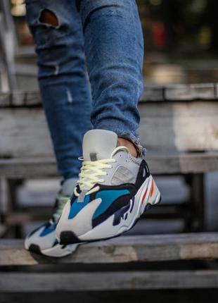 Крцтые мужские кроссовки адидас