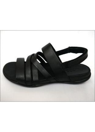 Ecco flash женские сандалии босоножки оригинал кожа 36 23см
