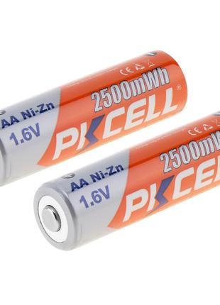 Аккумуляторы PKCELL NIZN AA 2500 мАч 1,6 в