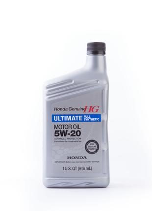 Моторное масло Honda HG Ultimate Synthetic 5W-20 0,946мл