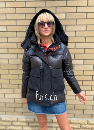 Женский пуховик украина, зимняя женская куртка, пуховики киев