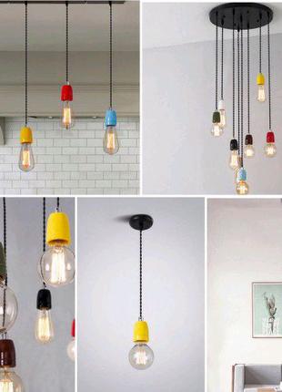 Потолочные светильники с керамическими патронами
