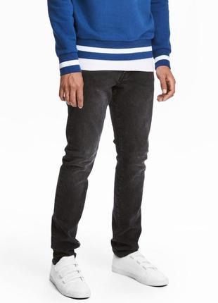 Темные джинсы  h&m , slim jeans !