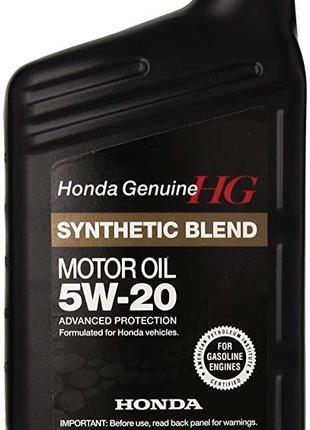 Моторное масло Honda Motor Oil Synthetic Blend 5W-20 0,946мл