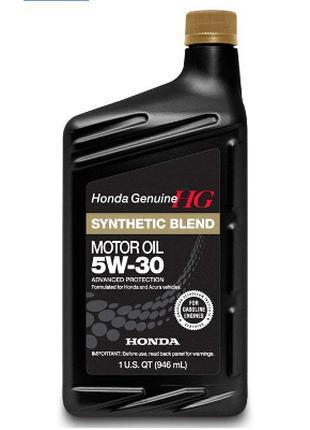 Оригинальное Моторное масло Honda Motor Oil Synthetic Blend 5W-30