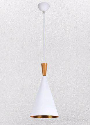 Белая люстра лофт Metal&Wood White