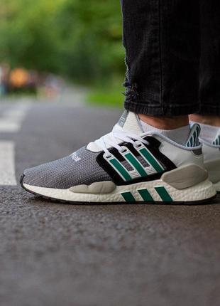 Adidas eqt support white grey 🔺мужские кроссовки адидас серый🔺...