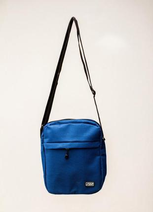Мессенджер fdr blue барсетка синяя бананка сумка