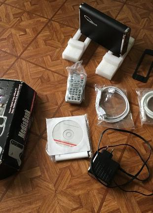 Медиа центр / USB внешний и LAN сетевой винчестер Welland ME-747A