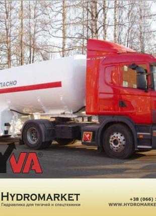 Гідравлічна система  Hyva на бензовоз