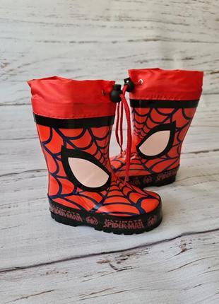 Детские резиновые сапоги для мальчиков kimboo