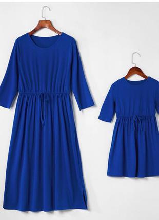 Базовые платья для мамы и дочки