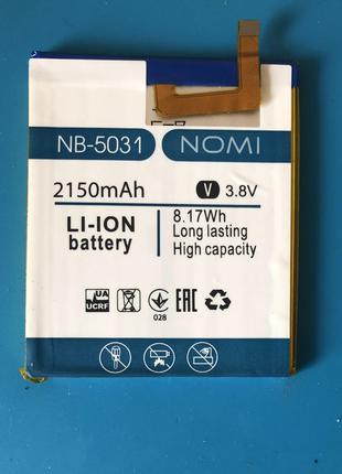 Аккумулятор  Nomi i5031 Evo X1