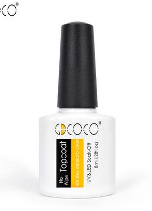 Акция ♥ gdcoco (canni)  топ  финишное покрытие гель лака без л...