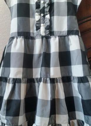 Платье на девочку в клетку ( h&m)