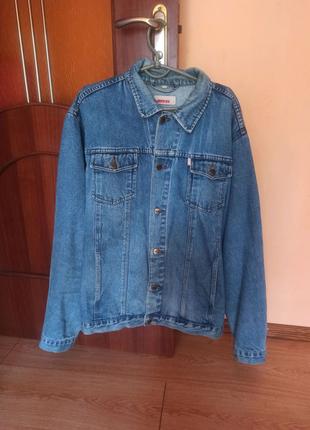 Джинсовка мужская джинсовая куртка