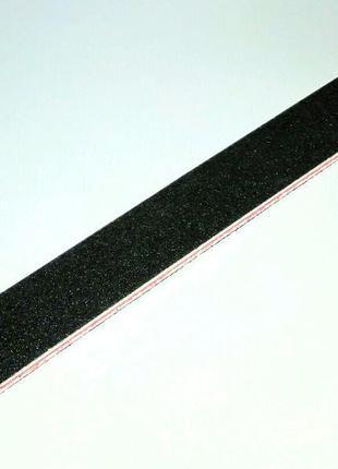 Пилка пилочка для ногтей 100/180 black