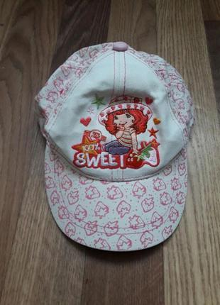 Яркая оригинальная кепка strawberry shortcake