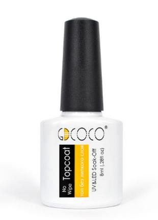 Gdcoco (canni) топ финишное покрытие гель лака без липкого слоя