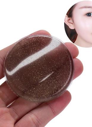 Акция ❤ спонж силиконовый для макияжа ring grey