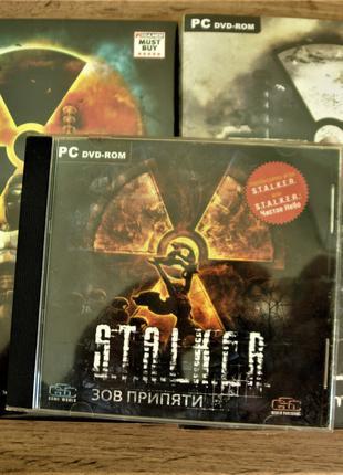 """""""S.T.A.L.K.E.R."""" Полная лицензионная коллекция STALKER СТАЛКЕР"""