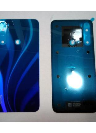 Задняя крышка Xiaomi Redmi Note 8 , синяя, Neptune Blue, оригинал