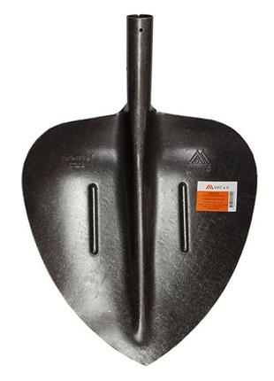 Лопата совковая щебеночная (рельсовая сталь)