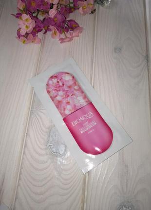 Маска для лица bioaqua cherry jelly mask гелевая с японской ви...