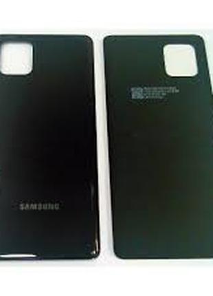 Задняя крышка Samsung N770F Galaxy Note 10 Lite, черная, оригинал